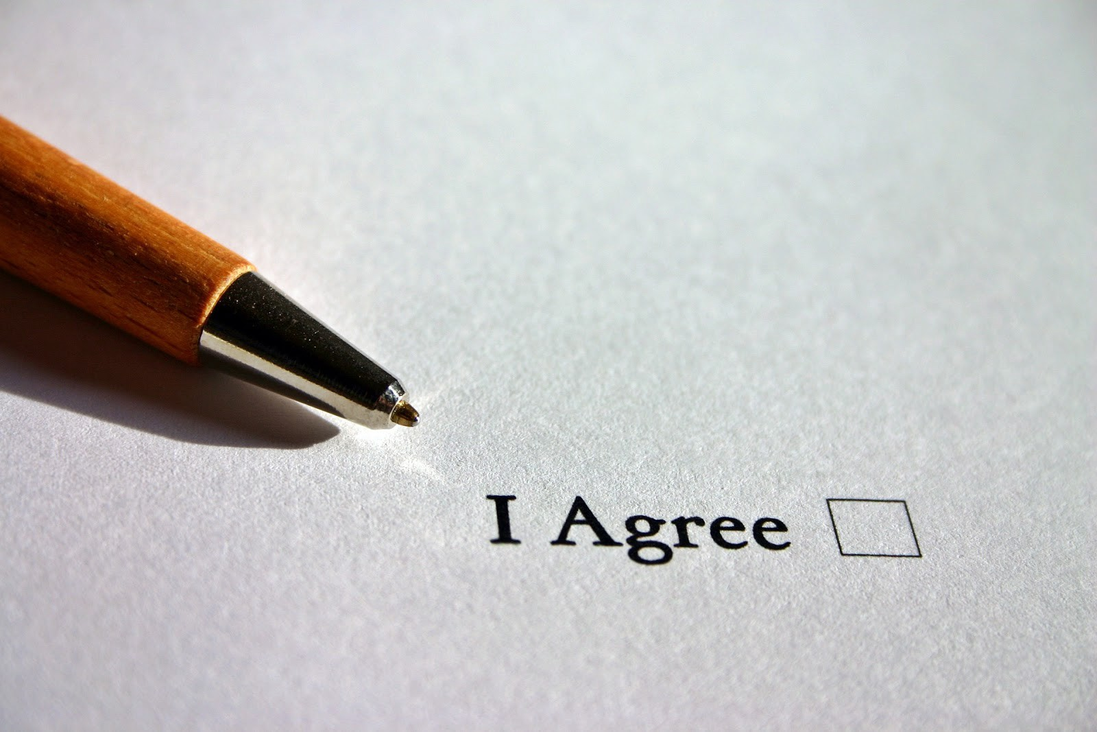 financial agreement contract